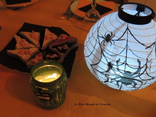 Table d'Halloween ^^