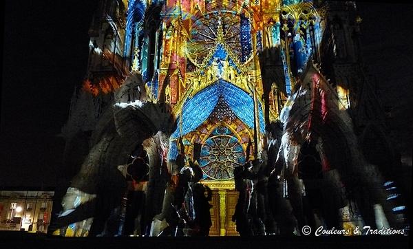 Spectacle de nuit sur la Cathédrale de Reims - 5