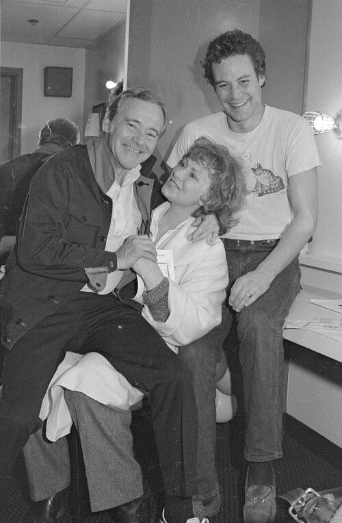 Chris Lemmon et Marion Ross.