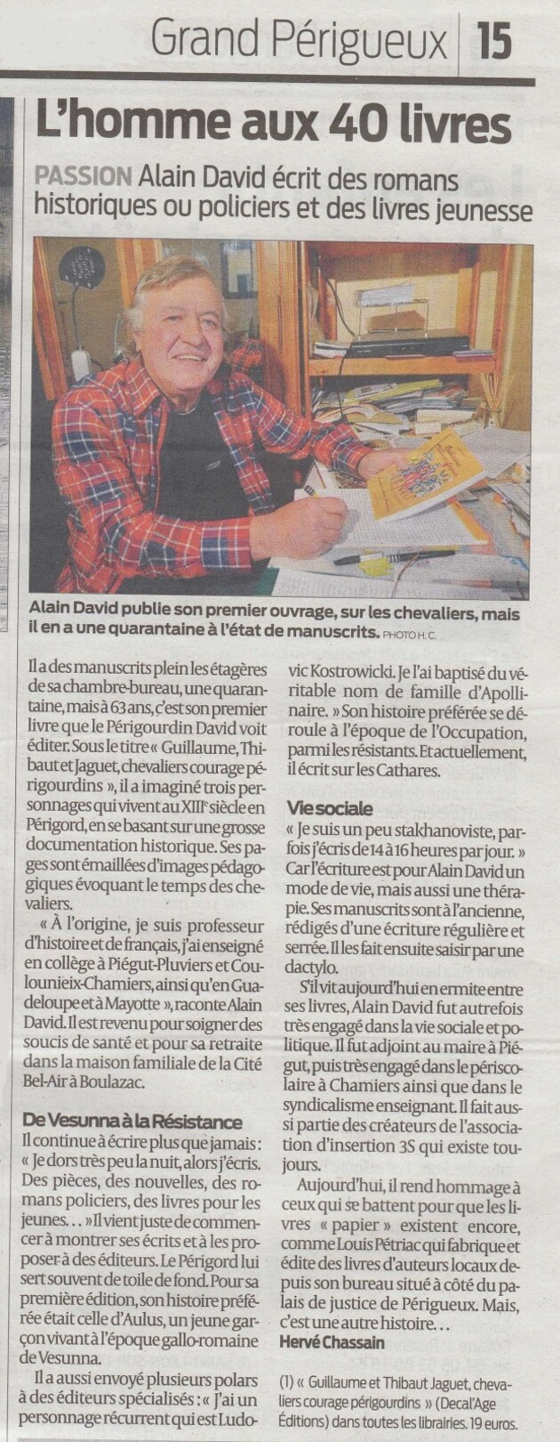 Sud Ouest 01.2013