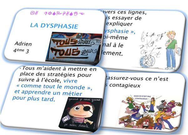 Témoignage de Adrien : dysphasique