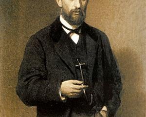 Portrait of the Artist Mikhail Konstantinovich Klodt - Ivan Kramskoy