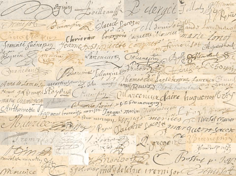 Baigneux signatures
