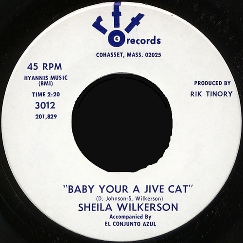 Sheila Wilkerson : Baby Your A Jive Cat