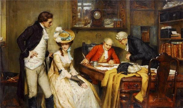 Peinture de : Georges SHERIDAN KNOWLES