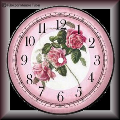 Tubes cadrants d'horloge 2956