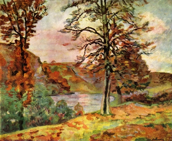 Armand Guillaumin, Paysage