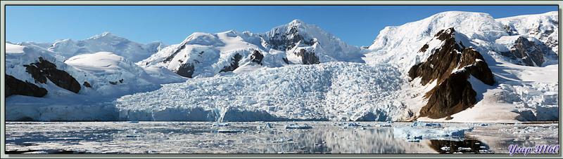Paysages de Paradise Bay (photos panoramiques) - Péninsule Antarctique