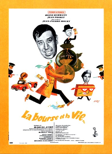 LA BOURSE ET LA VIE BOX OFFICE 1966