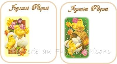 Cartes Pâques !