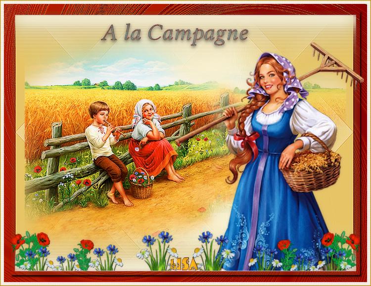 """Défi 8 """"A la campagne"""""""