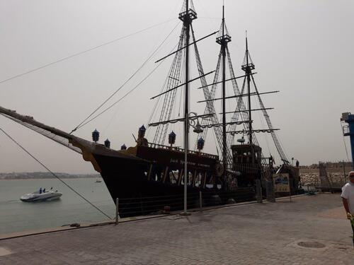Le bateau pirate.....