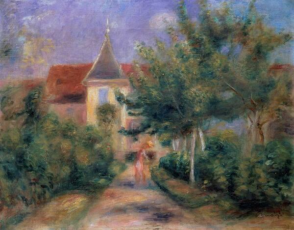Visite de l'Espace Renoir à Essoyes