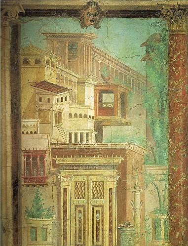 Boscoreale Fresque de la maison de Fannius Synistor (milieu