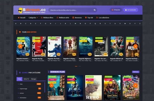 Top Site Streaming Fiable En Français 2020 Gratuit