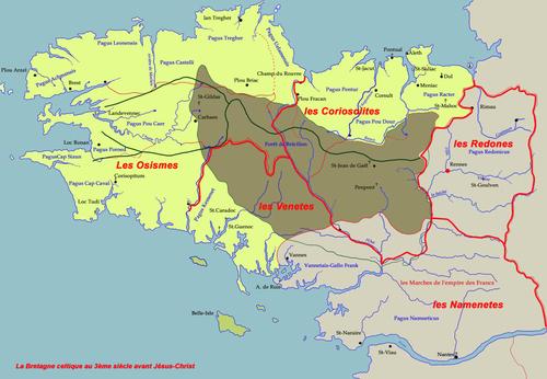 Le Royaume de Bretagne ou la naissance de ses comtés