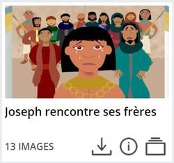 Les frères de Joseph se rendent en Égypte pour acheter du grain
