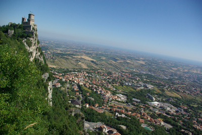 San Marino - Panorama et tour Guaita