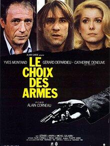 BOX OFFICE FRANCE 1981 LE CHOIX DES ARMES