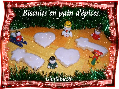 Biscuits en pain d'épices