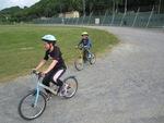 Nouvelle séance de vélo par un temps frisquet !