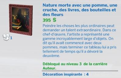 """Carrière """"Auteur"""" niv 3"""