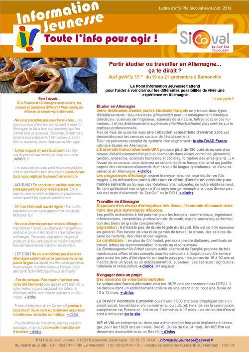 le PIJ participe à la QUINZAINE FRANCO ALLEMANDE