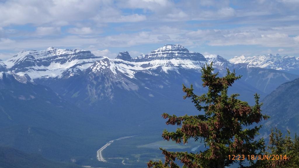 Splendeur des Montagnes Rocheuses.