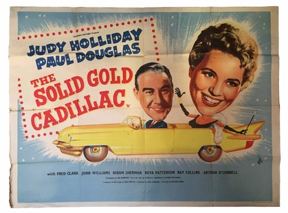 The Solid Gold Cadillac POSTER BOX OFFICE USA 1957