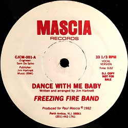 Freezing Fire Band - Dance With Me Baby