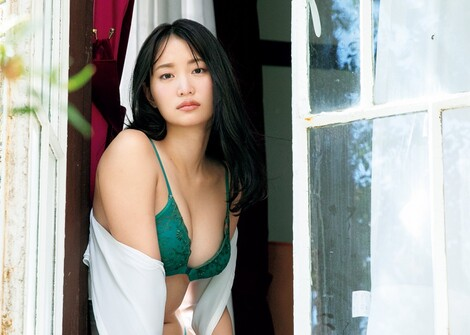 WEB Magazine : ( [FRIDAY Digital - Gravure] -  FRIDAY - 07/02/2020 - Mariya Nagao : 永尾まりや 元アイドルがランジェリー姿で「背徳の美女」を演じた  )