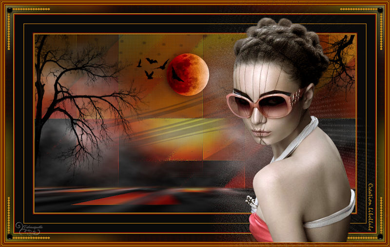 *** Lune Rousse - Libellule ***