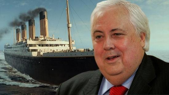 Clive Palmer titanic 2