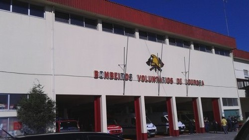 Les pompiers au Portugal