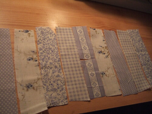 Le montage du patchwork