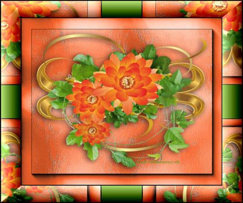 Cadres Fleurs
