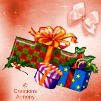 Tag mini de Noël