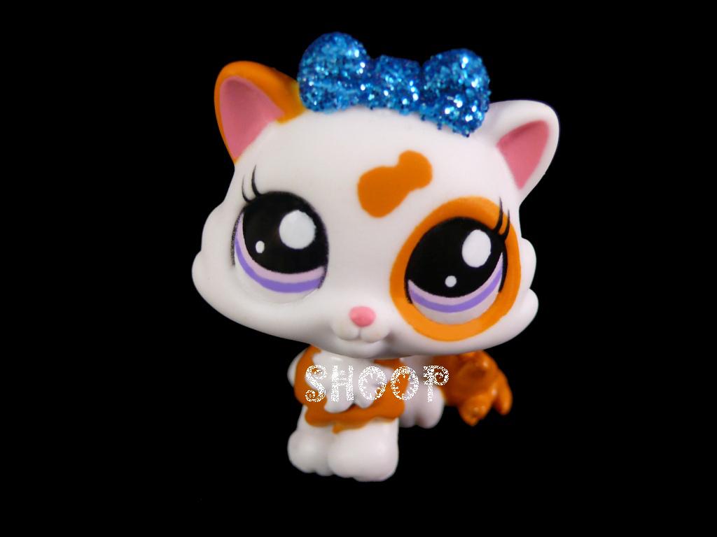 Cute Lps Google I Like Pets Shop Glitter Bow Littlest Pet