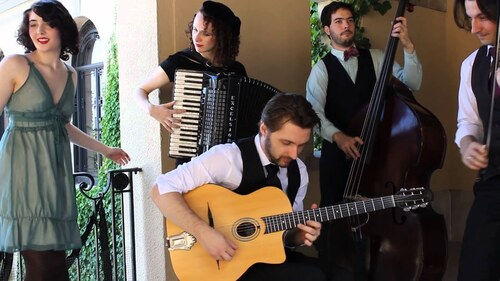 AVALON JAZZ BAND - Ménilmontant (Chansons françaises)