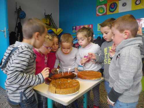 Joyeux anniversaire Mathis, Alexis, Arthur, Elodie, Léon, Mariah, Mathys et Gaëtane!!!