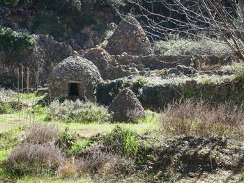 Le jardin d'un amateur de pierres maçonnées