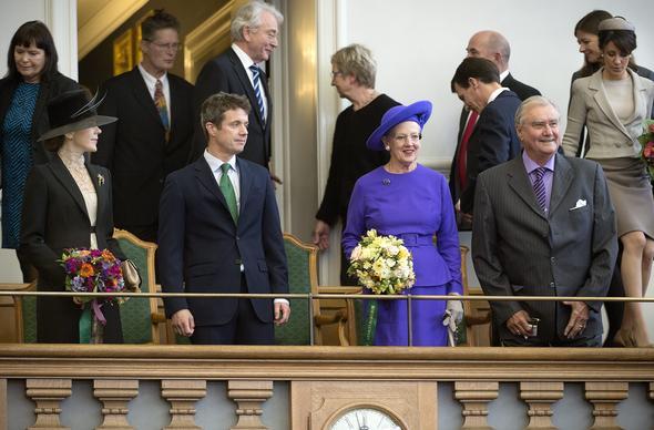Ouverture du parlement danois