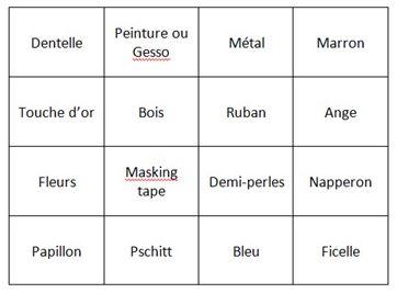 Les pages du Bingo !