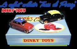 """Le coffret """"Taxis de Poissy"""" Dinky Toys - Hors-série"""
