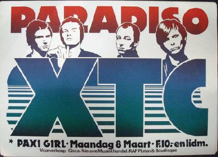 Live : XTC - Paradiso Amsterdam - 8 Mars 1982 (Pre-FM)