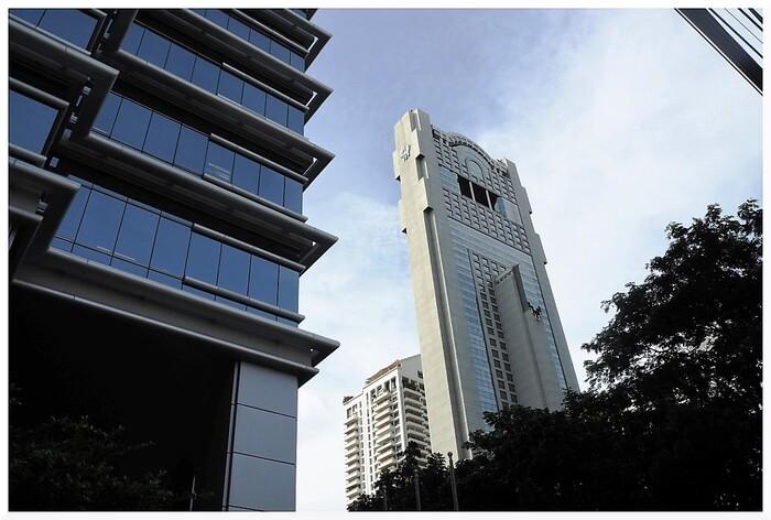Immeubles à Bangkok. Thaïlande