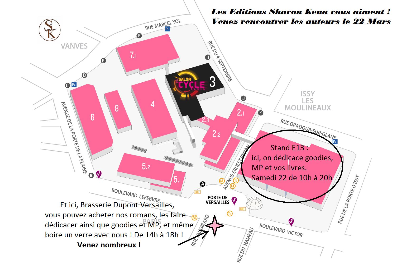 Le Salon du livre Paris 2014 - Préparation