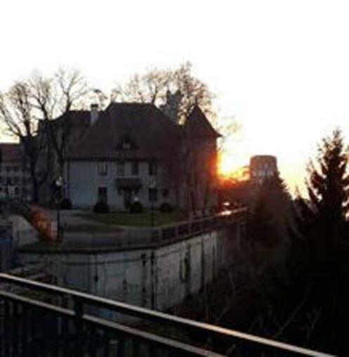 quelques photos du coucher de soleil hier !!