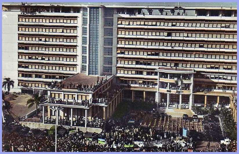 Alger, La Place G. Clémenceau et le Gouvernement Général