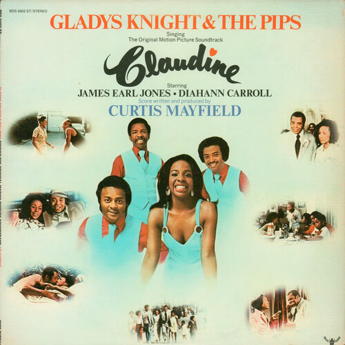 "Gladys Knight & The Pips : Album "" Claudine [ Original Soundtrack ] "" Buddah Records BDS 5602 ST [ US ]"